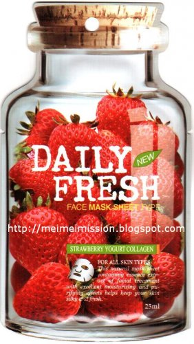 VOV: Strawberry Yogurt Collagen Mask