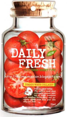 VOV: Tomato White Collagen Mask