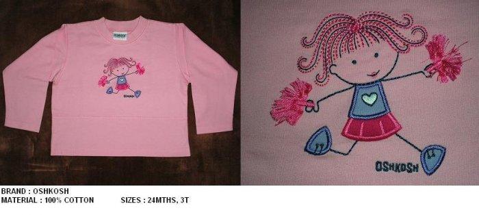 Oshkosh Pink - 18-24mths