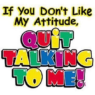 If you dont like my attitude.. Kids Tshirt