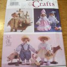 "Simplicity 7711 13"" Jointed Historical Bear and Clothes Pattern"