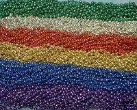 200 MARDI GRAS BEADS necklaces PARTY FAVORS ASSORTED COLORS