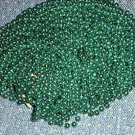 48 GREEN NEW MARDI GRAS BEADS 4 DOZEN ST PATRICKS DAY