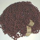 LOT 12 BURGUNDY MARDI GRAS BEADS  PARTY FAVORS