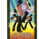 NEW ORLEANS JAZZ FESTIVAL POSTER POST CARD 1988 NEW