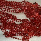 12 NEW ORPHEUS MARDI GRAS BEADS NEW ORLEANS PENDANTS