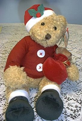 SAMMY SANTA CHRISTMAS BEAR & ORNAMENT SET AVON NEW