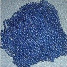 12 BLUE NECKLACES MARDI GRAS BEADS PARTY FAVORS