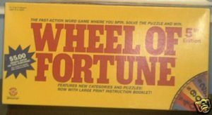 WHEEL OF FORTUNE GAME 1991 COMPLETE 99% UNPUNCHED