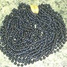 HUGE LOT 72 NAVY MARDI GRAS BEADS PARTY FAVOR NECKLACES