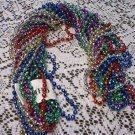 "LOT GLOBAL DISCO 48"" MARDI GRAS BEADS PARTY FAVOR NEW"