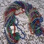 """LOT GLOBAL DISCO 48"""" MARDI GRAS BEADS PARTY FAVOR NEW"""