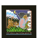 NEW ORLEANS JAZZ FESTIVAL POSTER POST CARD 1987 NEW