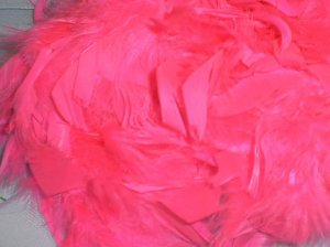 HOT PINK FEATHER BOA 6FT 6 FT NEW BACHELORETTE PARTY