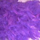 PURPLE FEATHER BOA 6FT 6 FT MASQUERADE DRESS UP