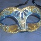 Blue Child or Adult Venetian Mask Masquerade Mardi Gras