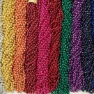 72 Choice Mardi Gras Gra Beads Necklaces Party Favors 6 Dozen Lot
