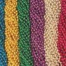 120 (10 Dozen) Mardi Gras Beads Carnival Parade Necklaces Lot Free Shipping