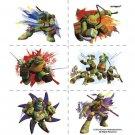Teenage Mutant Ninja Turtles Tattoos 24 pack Favors Party Supplies TMNT