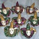 Jester Joker Magnet New Orleans Mardi Gras Party Favor Ornament Gift