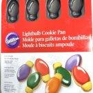 Wilton Light Bulb LightBulb Cookie Pan Non Stick 12 Cavity Christmas