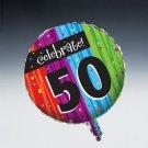 Milestone Foil Balloon 30th 40 50 60 70 80 90 100 Birthday Party Supplies