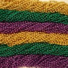 "720 33"" NEW ASST COLORS MARDI GRAS BEADS CASE HUGE LOT"