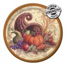 Cornicopia Scroll Plates Napkins 34 pc Thanksgiving Party Supplies 8 guests