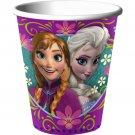 Disney Frozen 9 oz Paper Cups 8 Ct Party Supplies Elsa Anna