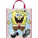 "Spongebob Squarepants Loot Favors Party Supplies Tote Bag 11"" x 13"""