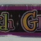 Mardi Gras Beads Party Supplies Foil Banner 12' ft Decor