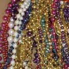 48 XLG Lot Mardi Gras Gra Beads Parade Throws Necklaces