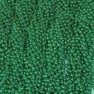 72 Mardi Gras Beads St Patricks Day Green Necklaces 6 Dozen  Lot Party Favors