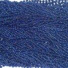 12 Blue Mardi Gras Beads Necklaces Party Favors 1 dozen Lot