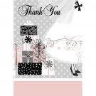 Elegant Wedding Bridal Shower Engagement Thank Yous 8 ct Party Supplies