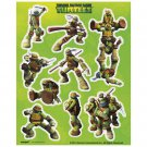 Teenage Mutant Ninja Turtles Stickers 4 sheets Party Supplies TMNT