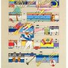 1984 New Orleans Jazz Fest Festival Poster Postcard