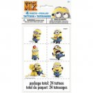 Despicable Me 2 Minions Party Supplies Party Favor Tattoo 24 Tattoos 4 sheets