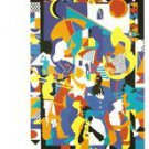 1993 New Orleans Jazz Festival Poster Post Card Postcard