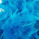 """Dark Turquoise Chandelle Feather Boa 72"""" 6 FT Bachelorette Party 85 GM"""