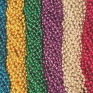 36 Asst 6 Colors Mardi Gras Beads Party Favors Huge Lot 3 Dozen