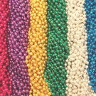 240 6 Color Mardi Gras Gra Beads Necklaces Party Favors Huge Lot 20 Dozen 33""