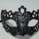 Black Silver Crown Prince Mardi Gras Masquerade Mask