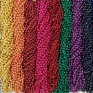 48 Choice Mardi Gras Beads Football Party Tailgate BCS Playoff 4 Dozen Lot