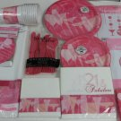 Fabulous Pink Cocktail 21st 30 40 50th Birthday Party Supplies Set Kit  94 pc