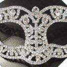 Wedding Crystal Bridal Rhinestone Laser Cut Venetian Masquerade Mask Gift