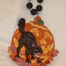 Black Cat Pumpkin Halloween Mardi Gras Beads Costume Party favors