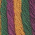 240 Purple Green Gold Mardi Gras Beads 20 Dozen Necklaces Party Favors