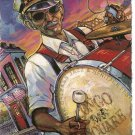2010 Batiste Congo New Orleans Jazz Festival Poster Post Card Postcard