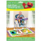 Sesame Street 1st Birthday Party Supplies High Chair Decorating Kit Mat Banner